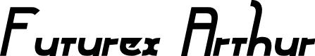 Preview image for Futurex Arthur Bold Italic