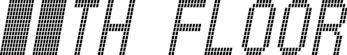 Preview image for 11th floor Font