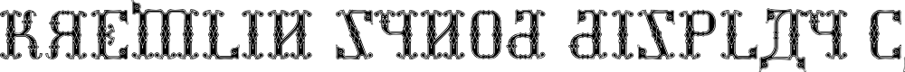 Preview image for Kremlin Synod (Display Caps) Font