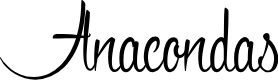 Preview image for Anacondas Font