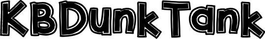 Preview image for KBDunkTank Font