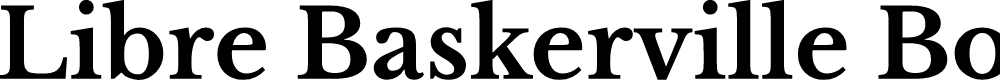 Preview image for Libre Baskerville Bold