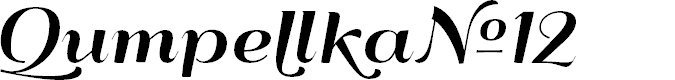 Preview image for QumpellkaNo12 Font