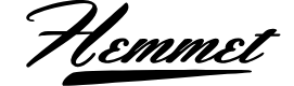 Preview image for Hemmet Personal Use Only Font