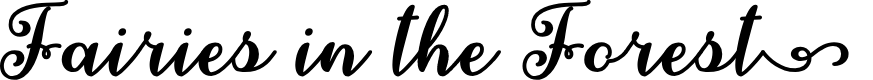 Preview image for Fairies in the Forest Regular Font