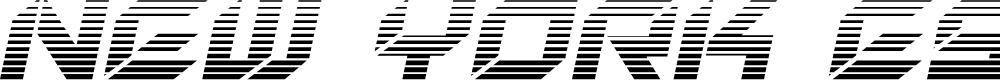 Preview image for New York Escape Gradient Italic Italic