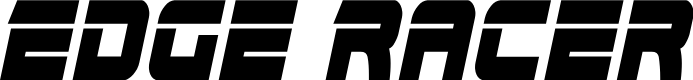 Preview image for Edge Racer Condensed Italic