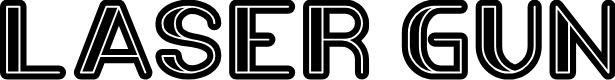 Preview image for LASER GUN Font