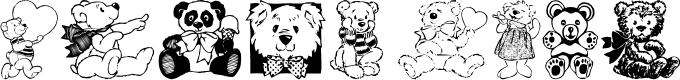Preview image for Teddyber V1.1 Font