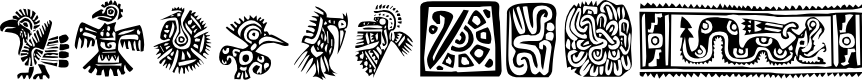 Preview image for Mexican Ornaments Font