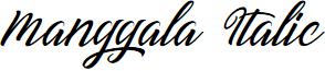 Manggala Italic