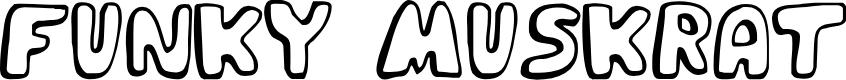 Preview image for Funky Muskrat Regular Font