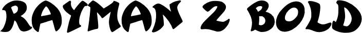 Rayman 2 Bold