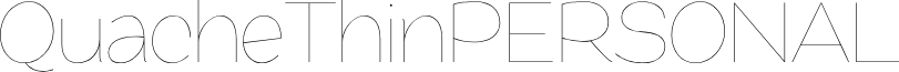 QuacheThinPERSONAL