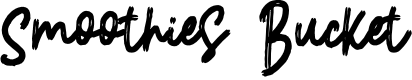 Preview image for SmoothiesBucket Font