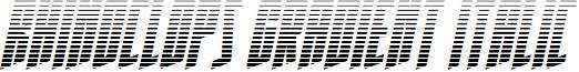 Rhinoclops Gradient Italic