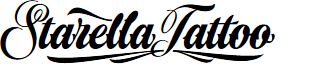 Starella Tattoo PERSONAL USE font