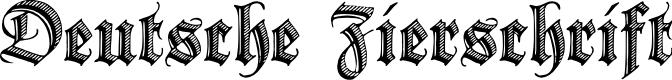 Preview image for Deutsche Zierschrift Font