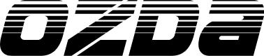 Preview image for Ozda Halftone Italic