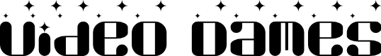Preview image for Video Dames Regular Font