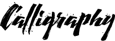 Preview image for Calligraphy wet