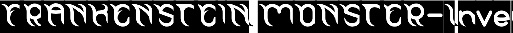 FRANKENSTEIN MONSTER-Inverse