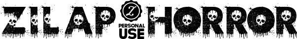 Preview image for Zilap Horror Font