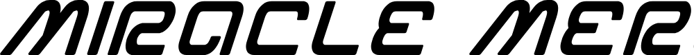Preview image for Miracle Mercury Bold Italic