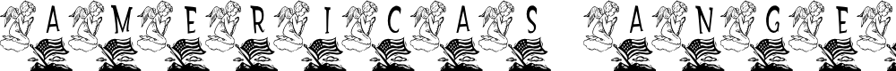 Preview image for LCR America's Angel  LSF Font