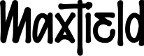 Preview image for Maxtield Font
