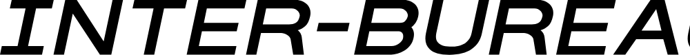 Preview image for Inter-Bureau Expanded Italic