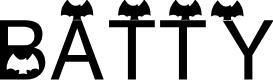 Preview image for AEZ batty Font