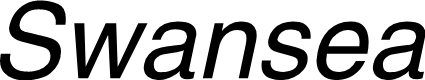 Preview image for Swansea Italic
