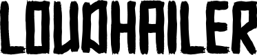 Preview image for Loudhailer Font
