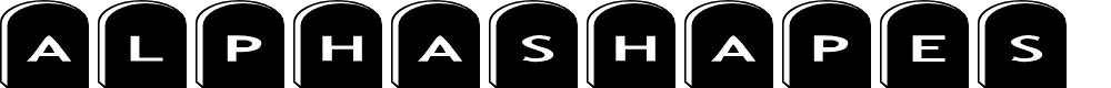 Preview image for AlphaShapes gravestones 2 Font