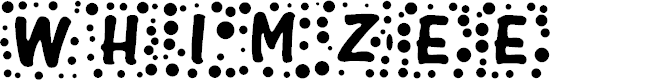 Preview image for Whimzee Font