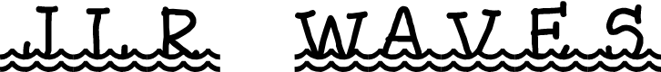 Preview image for JLR Waves Font