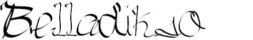 Preview image for Belladikso Font