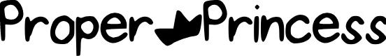 Preview image for ProperPrincess Font