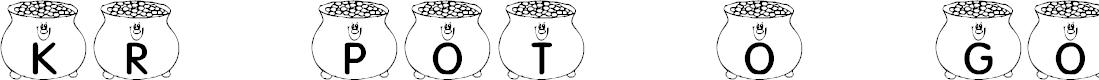Preview image for KR Pot O' Gold Font