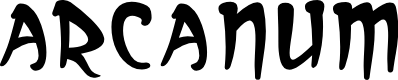 Preview image for Arcanum Font