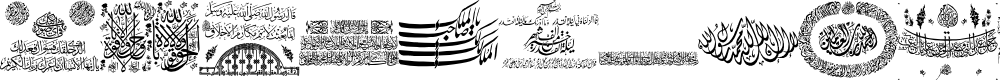 Preview image for Aayat Quraan 12 Font