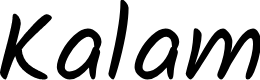 Preview image for Kalam Font