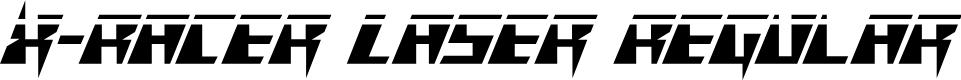 Preview image for X-Racer Laser Regular