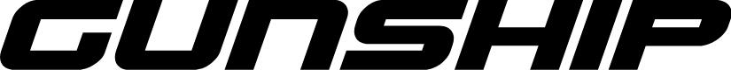 Preview image for Gunship Bold Italic Bold Italic
