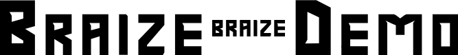 Preview image for Braize-Demo Font