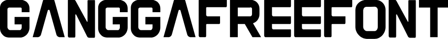 Preview image for Gangga-Free-Font