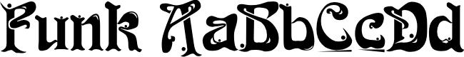Preview image for Funk Regular Font