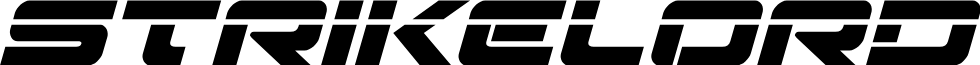Strikelord Laser Italic