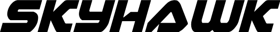Skyhawk Condensed Italic